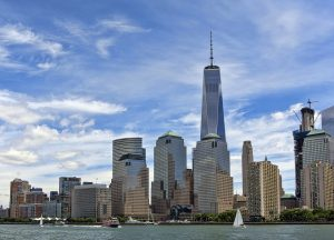Manhattan cityscape.