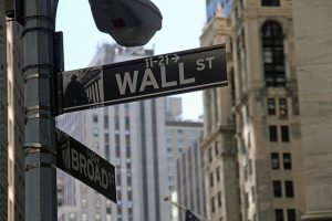 Broadway - Wall Street sign