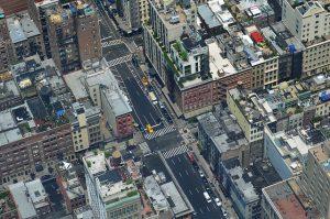 A cityscape.