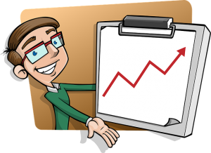 Statistic Man Character - How to make your business more attractive to buyers?