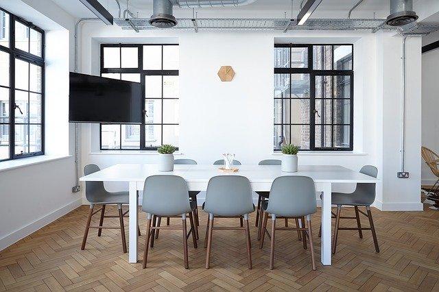 vibrant new workspace