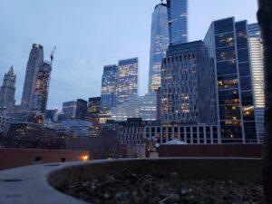 Buildings in Tribeca.