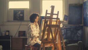 Artist Painter Girl