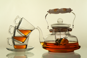 glass cups and a teapot demand that you know packing glassware tips