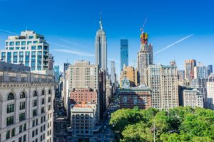 Buildings in which you can choose a Midtown Manhattan apartment