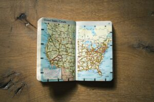 The map of TheUS and Canada you will need to explore the places when you move to Maryland