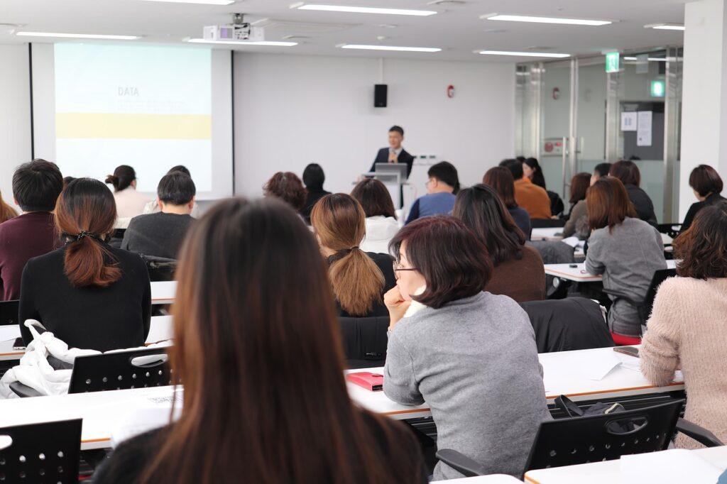 A seminar.