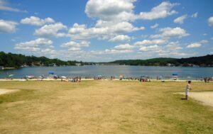 Lake in NJ.